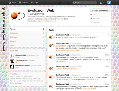 @EvoluzioniWeb si rinnova!