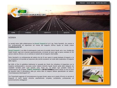 Online il sito Commissionaria Srl