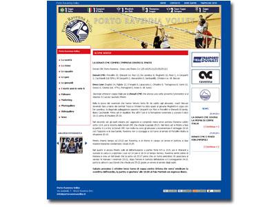 Porto Ravenna Volley: segui le imprese della squadra