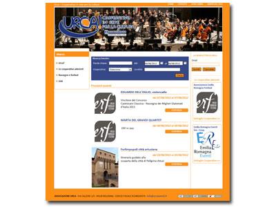 Online il sito URCA: Cooperative in Rete per la Cultura