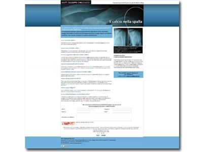 Calcificazioni di spalla (tendinite calcifica): ecco il trattamento