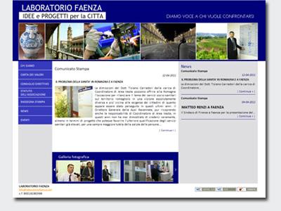 Online il nuovo sito di Laboratorio Faenza